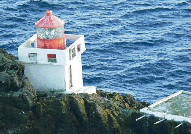 Latarnia morska Thridrangar