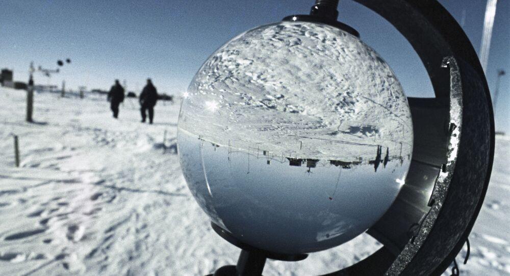 """Stacja naukowo-badawcza """"Wostok"""" na Antarktydzie"""