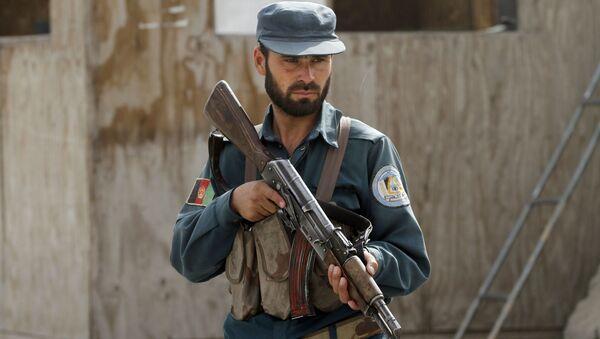Afgański policjant - Sputnik Polska