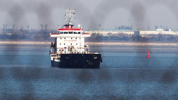 Statek KOTI na wodach Korei Południowej - Sputnik Polska