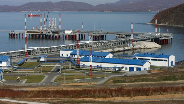 Specjalizowany port naftowy Koźmino w Rosji - Sputnik Polska