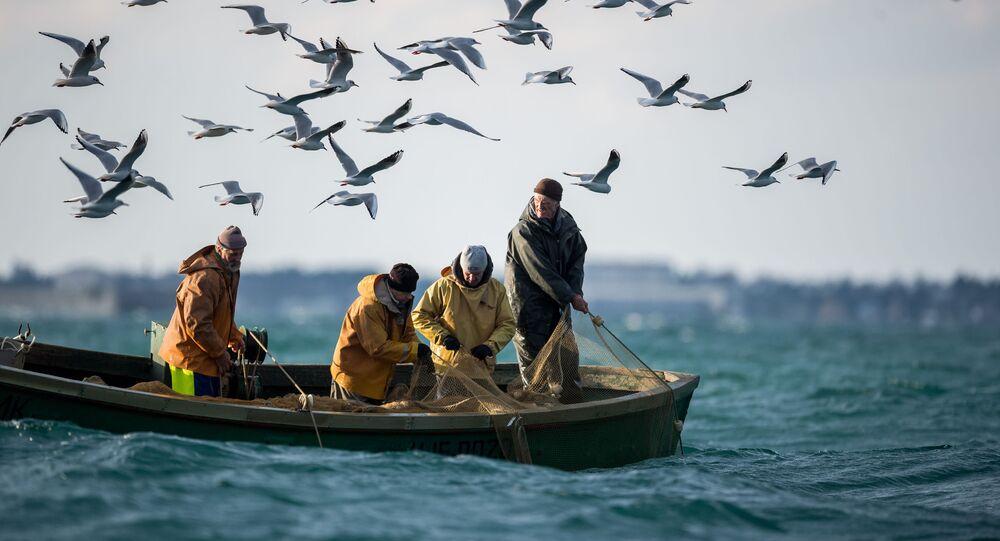 Połów ryb w Sewastopolu