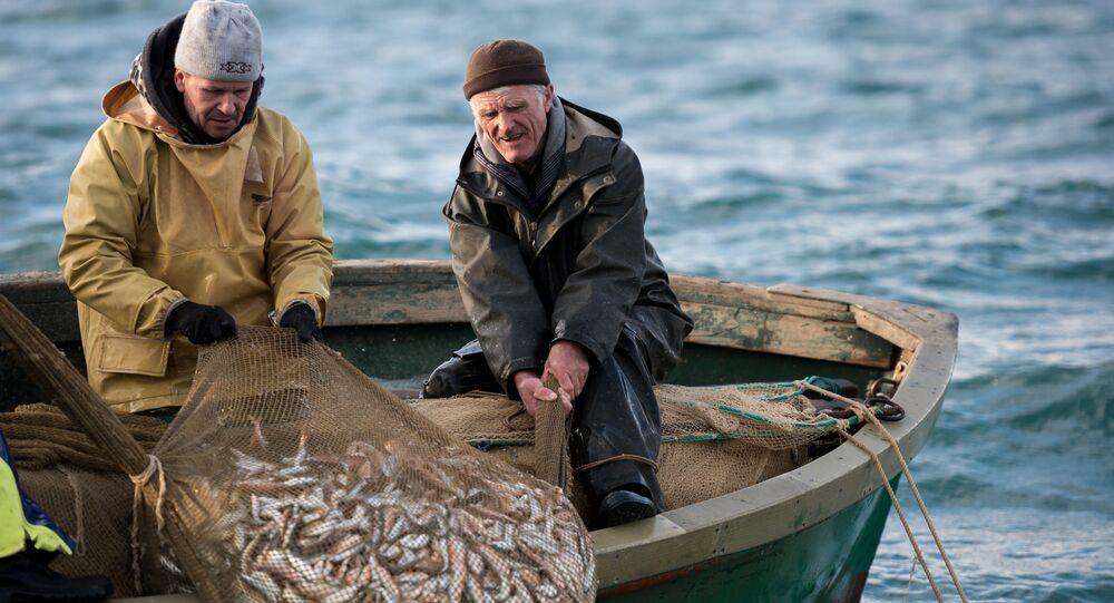 Rybacy na Morzu Czarnym