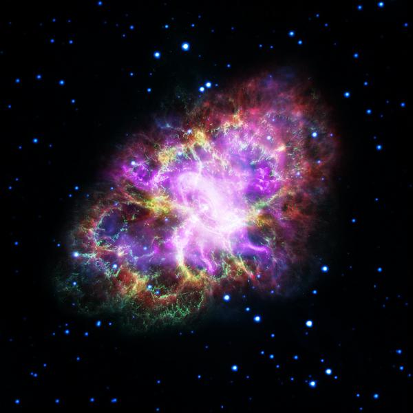 Zdjęcia Mgławicy Kraba po raz pierwszy pozwoliły astronomom zobaczyć jej pełen portret. - Sputnik Polska