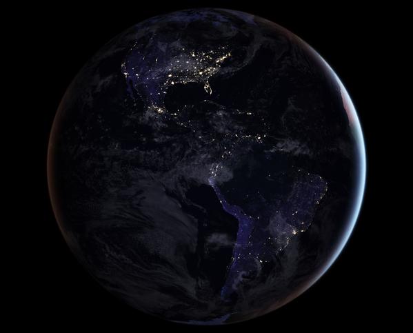 Naukowcy z NASA wyemitowali zaktualizowany wariant nocnej mapy Ziemi – to najbardziej wyraźne fotografie miejscowości na całej planecie. - Sputnik Polska