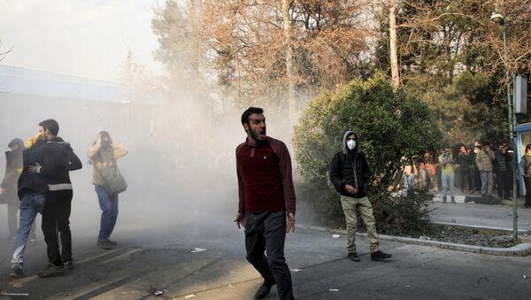 Protesty w Teheranie - Sputnik Polska