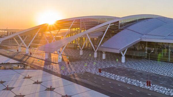 Międzynarodowe lotnisko Platow w obwodzie rostowskim - Sputnik Polska