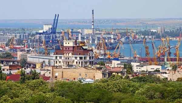 Port w Odessie, Ukraina - Sputnik Polska