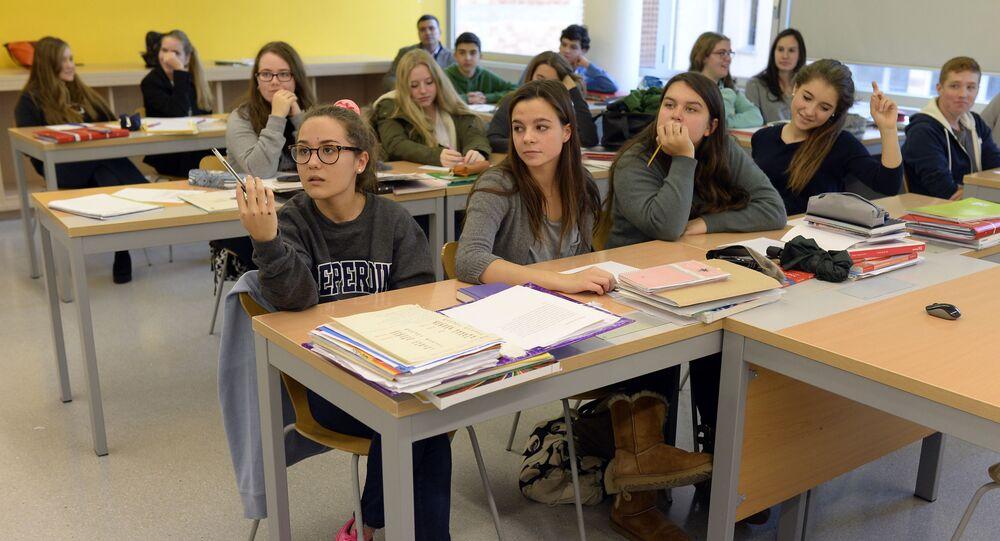Szkoła w Barcelonie