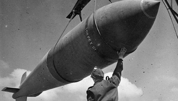 Brytyjska bomba lotnicza Tallboy - Sputnik Polska
