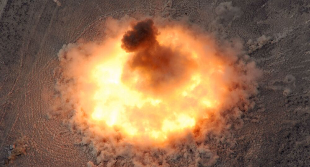 Detonacja BLU-82