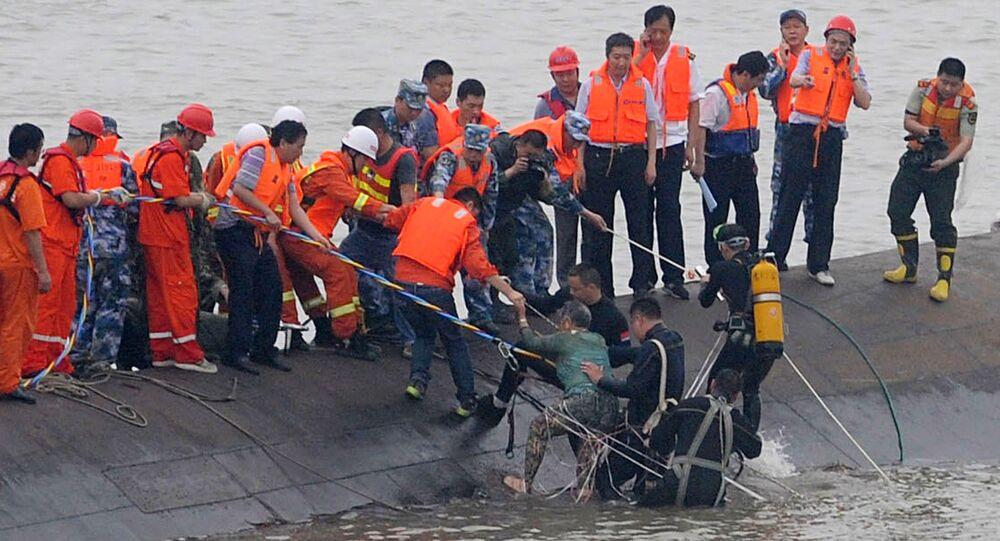 Panamski tankowiec zderzył się z innym statkiem u wybrzeży Chin