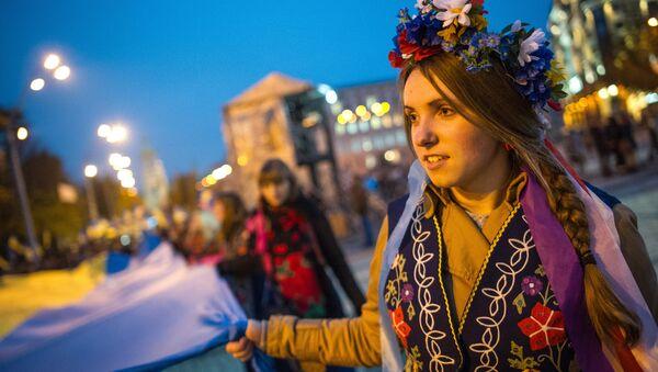 Marsz z okazji rocznicy powstania UPA w Kijowie - Sputnik Polska