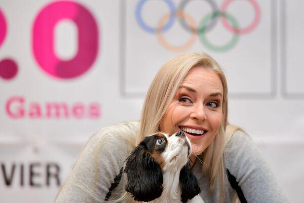 Lindsey Vonn amerykańska narciarka alpejska - Sputnik Polska