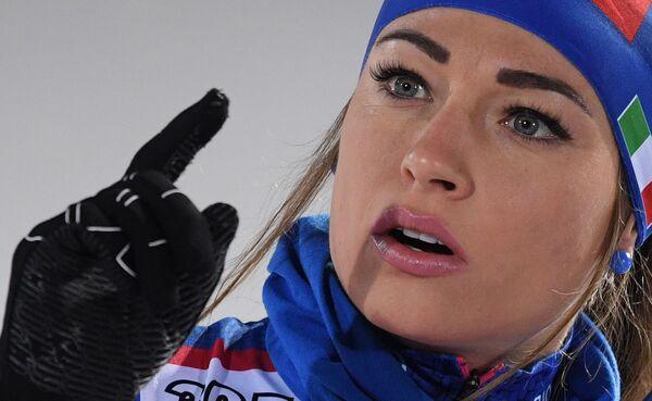 Włoska biathlonistka, Dorothea Wierer - Sputnik Polska