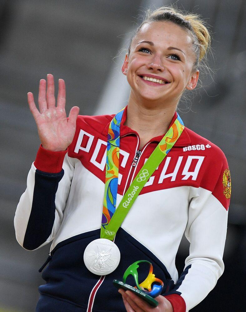 Marija Pasieka, rosyjska gimnastyczka
