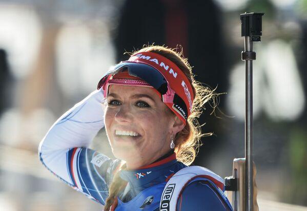 Gabriela Koukalová, czeska biathlonistka - Sputnik Polska
