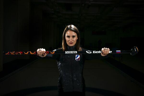 Anna Sidorowa, rosyjska curlerka - Sputnik Polska