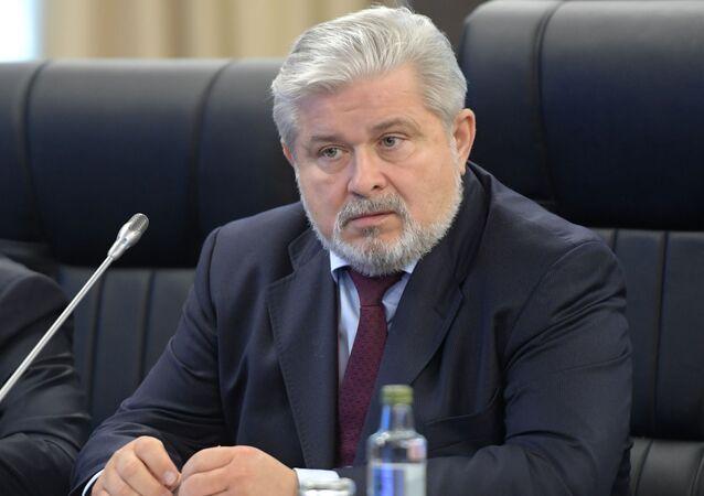 """Dyrektor generalny koncernu """"Techmasz"""" Władimir Lepin"""