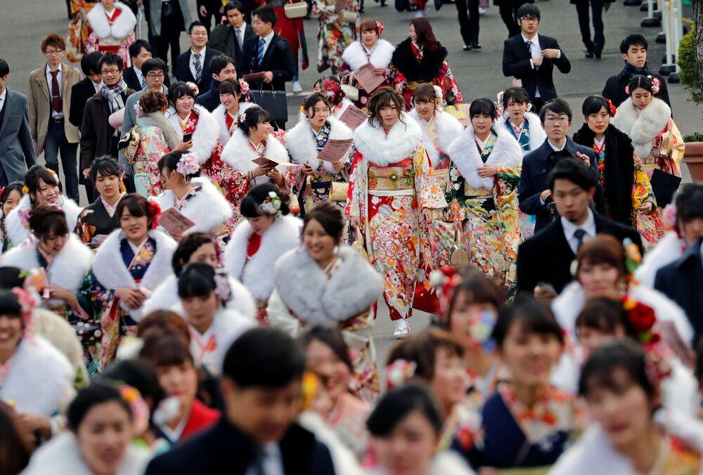 Święto narodowe Seijin no Hi (Dzień Dorosłych) w Japonii