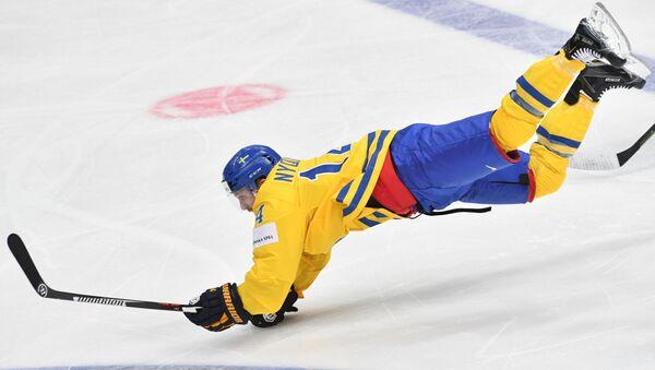 Reprezentant Szwecji w hokeja - Sputnik Polska