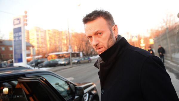 Opozycjonista Alieksiej Nawalny - Sputnik Polska