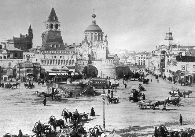 Plac Łubiański w Moskwie, 1899 rok