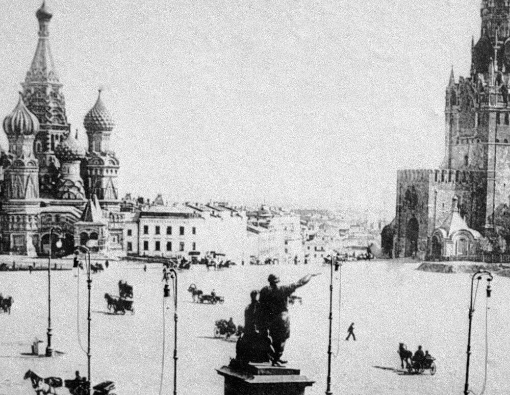 Plac Czerwony, 1896 rok