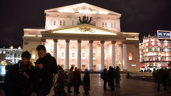 Teatr Wielki w Moskwie, 2017 rok - Sputnik Polska