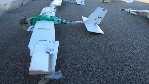 Drony, którymi zaatakowano rosyjskie bazy w Syrii - Sputnik Polska