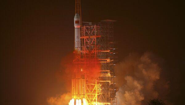 Wystrzelenie rakiety nośnej Long March-3III z satelitą chińskiego globalnego systemu nawigacyjnego Beidou - Sputnik Polska