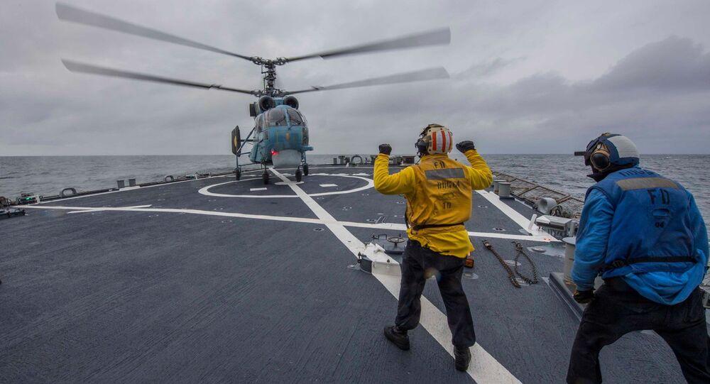 Wspólne ćwiczenia marynarki wojennej Ukrainy i USA na Morzu Czarnym
