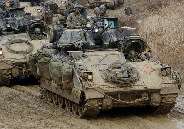 Amerykańskie bojowe wozy piechoty Bradley