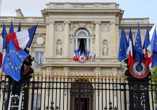 Budynek MSZ Francji w Paryżu.