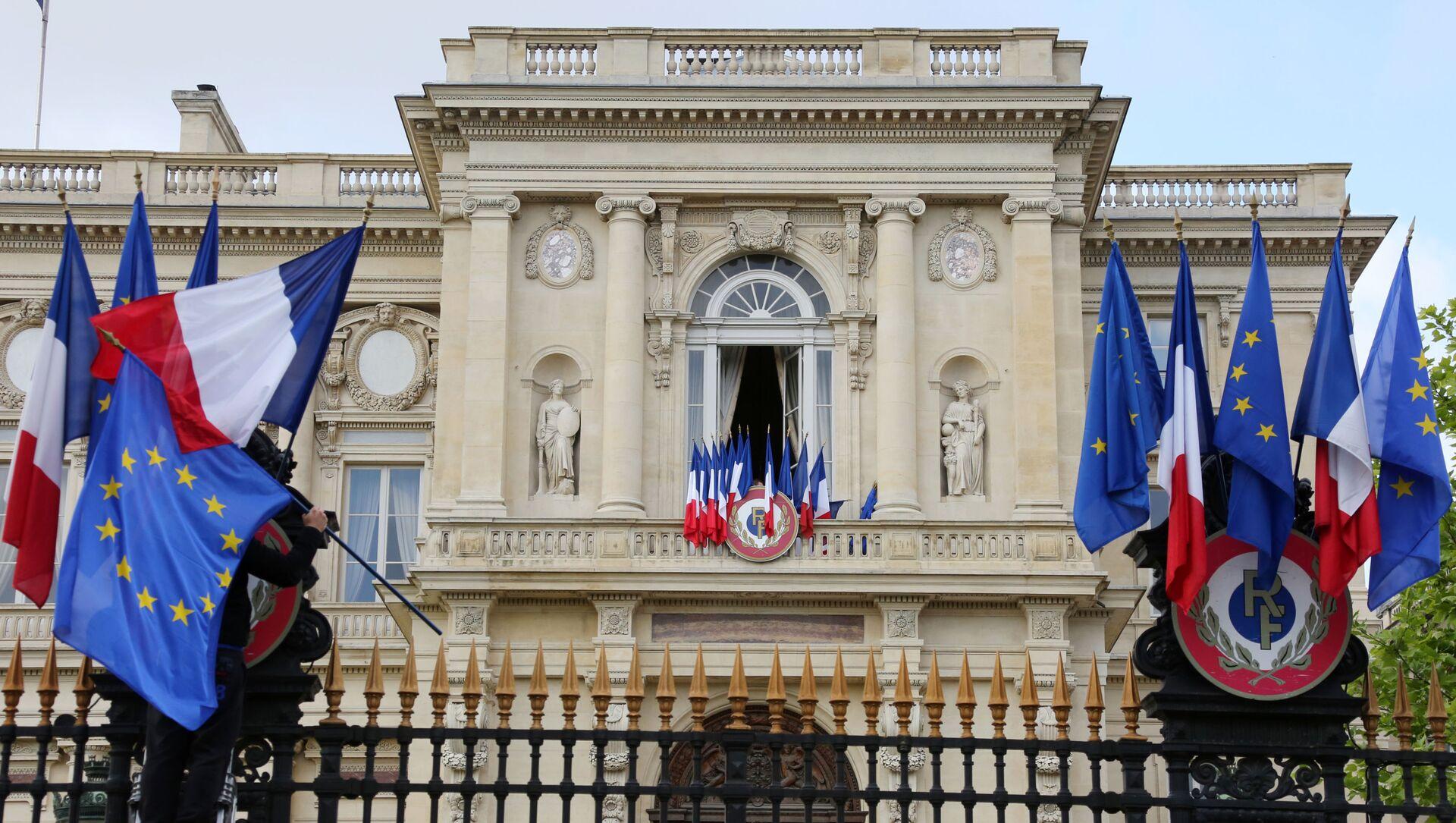 Budynek MSZ Francji w Paryżu  - Sputnik Polska, 1920, 04.05.2021