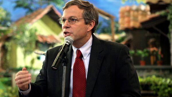 Zastępca szefa biura ds. europejskich i eurazjatyckich Departamentu Stanu USA John A. Heffern - Sputnik Polska