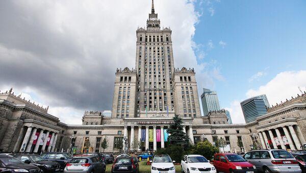 Здание Дворца культуры и науки в Варшаве, Польша - Sputnik Polska