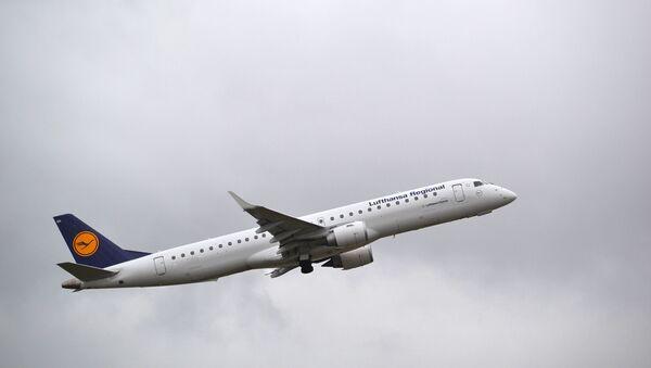Embraer 195 linie lotnicze Lufthansa - Sputnik Polska