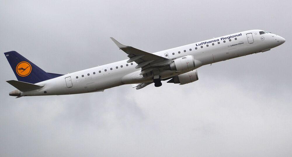 Embraer 195 linie lotnicze Lufthansa