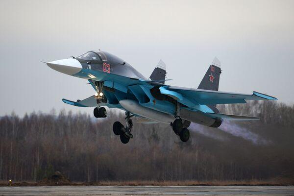 Su-34 - Sputnik Polska