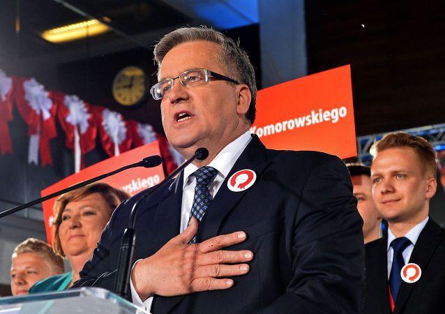 Bronisław Komorowski na spotkaniu ze zwolennikami