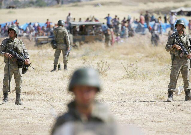 Tureccy żołnierze
