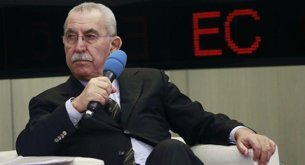 Włoski dziennikarz i działacz społeczny, były deputowany Europarlamentu Giulietto Chiesa