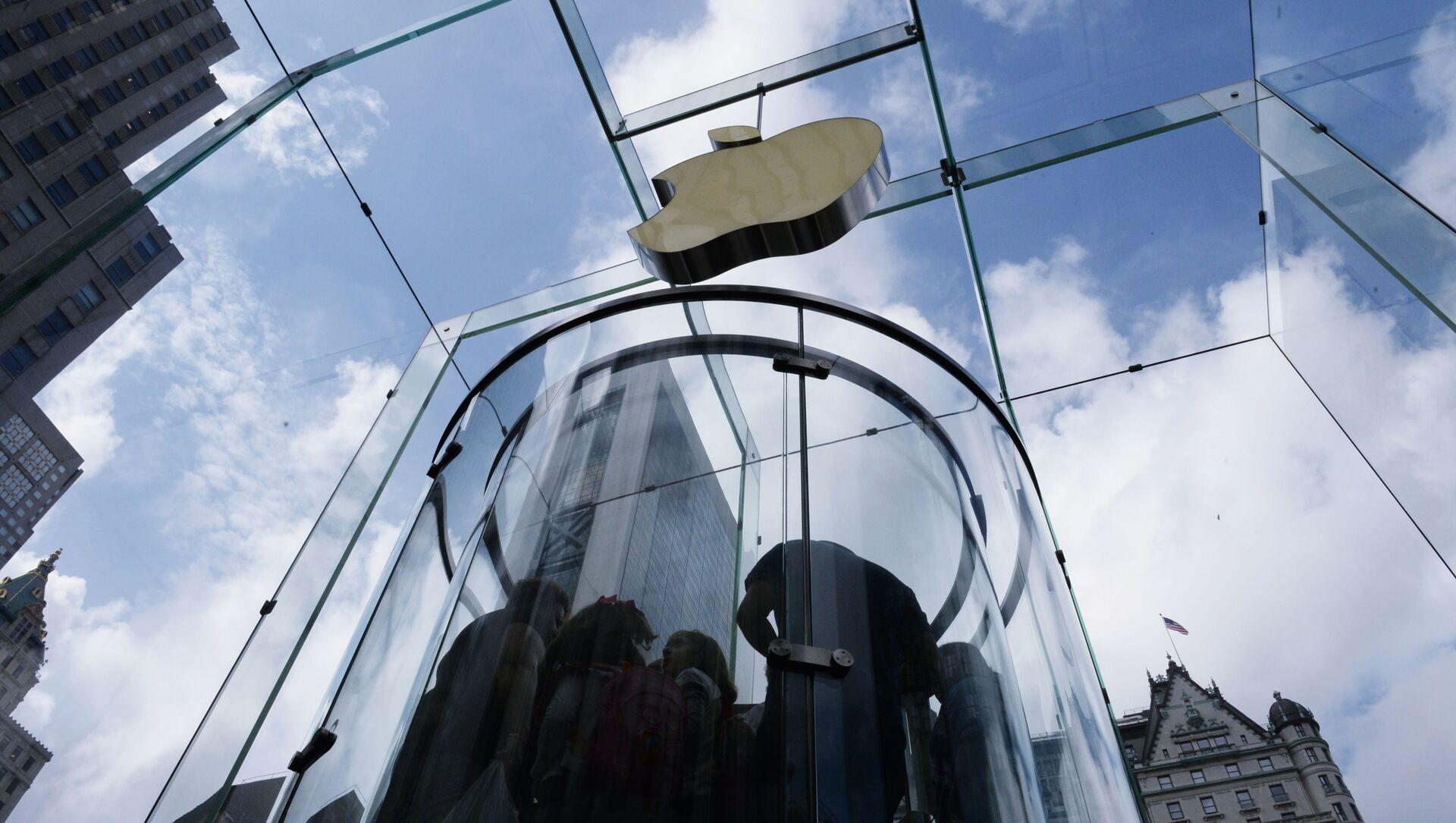 Sklep firmowy Apple w Nowym Jorku - Sputnik Polska, 1920, 09.06.2021