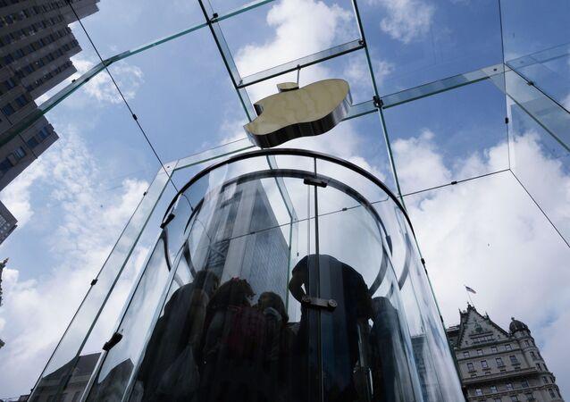 Sklep firmowy Apple w Nowym Jorku