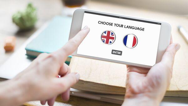 Smartfon z możliwością wyboru języka - Sputnik Polska
