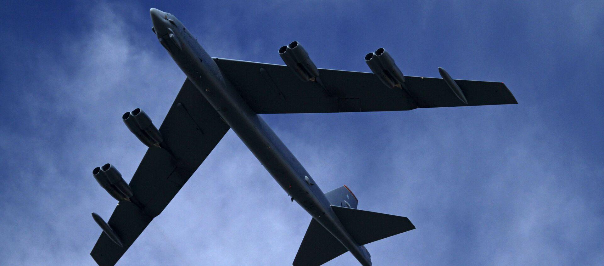 Bombowiec strategiczny Sił Powietrznych USA B-52H - Sputnik Polska, 1920, 16.05.2021
