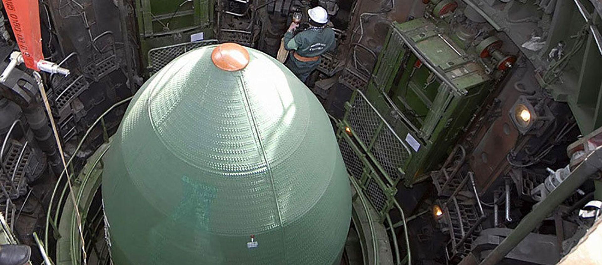 Przygotowanie do startu rakiety - Sputnik Polska, 1920, 10.01.2021