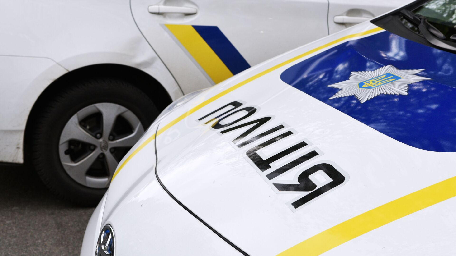 Samochody ukraińskiej policji. Zdjęcie archiwalne - Sputnik Polska, 1920, 03.08.2021