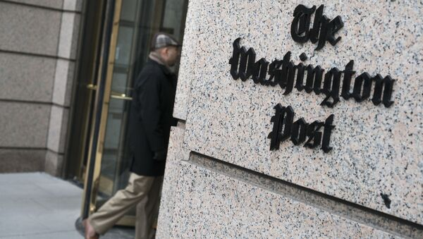 Budynek redakcji gazety The Washington Post - Sputnik Polska